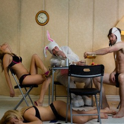 stag party ideas, drunk bunnies