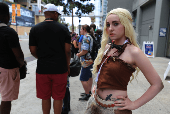 comiccon game of thrones