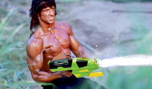 Cool waterguns
