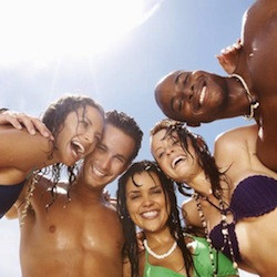 vacations for single men, group