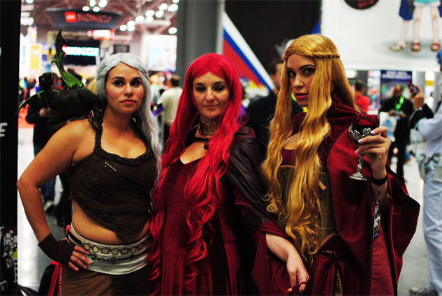 nycc 14 cosplay game of thrones