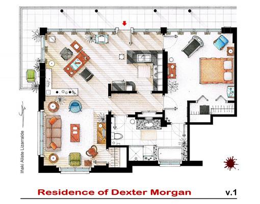 Dexter's apartment