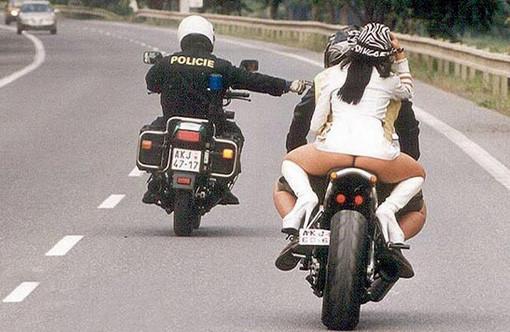 Weird, Funny, and Bizarre Stuff Motorcyslists Wear