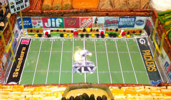 10 Amazing Super Bowl Stadiums …Made Out Of Food  pack