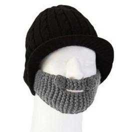 hats for men 2014 winter beard head stubblel rider