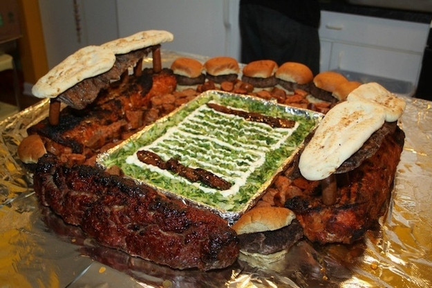 stadiums made from food