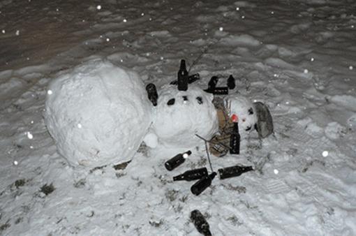 snowmanalcoholpoisoning