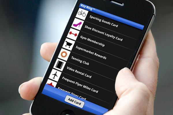 keyring smartphone app