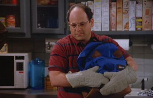 George Costanza Oven Mitts