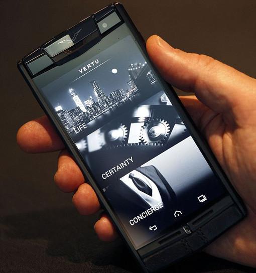 great a $20,000 smartphone from vertu