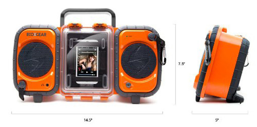 eco terra speaker boombox for iphone
