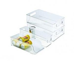 interdesign bins organize fridge