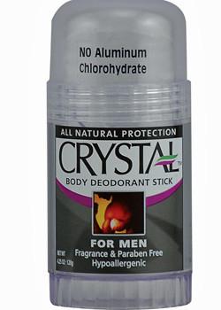 The Best Natural Deodorants For Men Crystal Rock