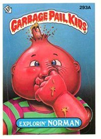 proper way to pick your nose garbage pail kids