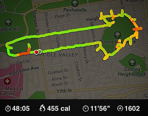 Photos: Runner Uses Nike+ App To Draw Enormous Dicks