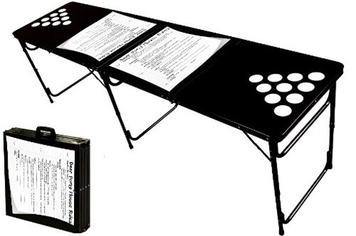 cool beer pong tables for guys house rules