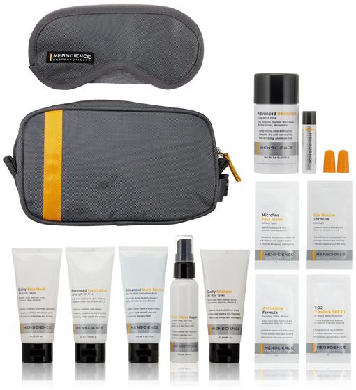 menscience travel grooming kit