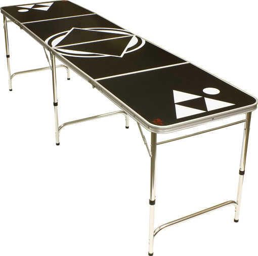 best beer pong tables for guys 8-foot black table