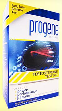 progene testosterone test kit