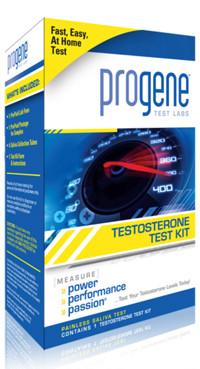 progene testosterone test kits