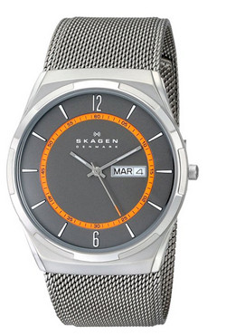 skagen melbye quartz 3 minimalist watch for men