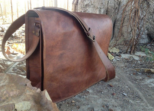 Leather Bags Now Unisex Cross Shoulder