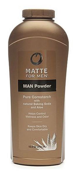 matte for men powder
