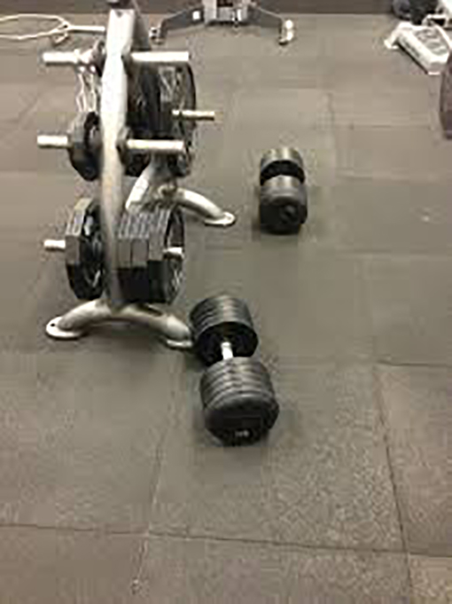 weights on floor life irritating moments