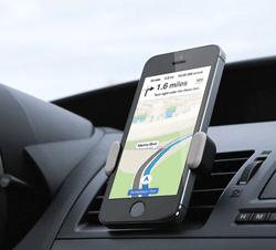 Airframe smartphone holder