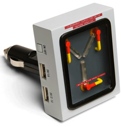 flux capacitor usb charger