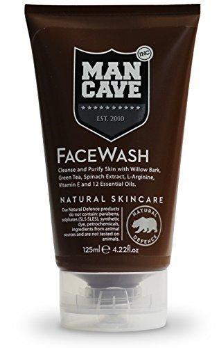 man cave natural face wash