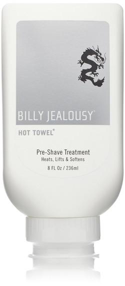 billy jealousy hot towel