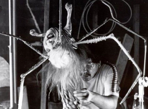 the thing behind the scenes of classic horror flicks