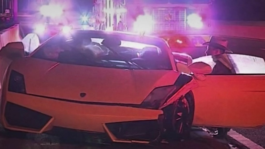 Dude Turns Rented Lamborghini Into Amazing Ball Of Flames [Video]
