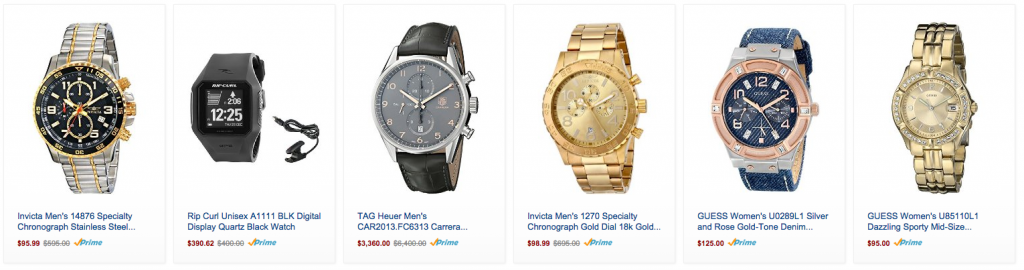 amazon deals watches