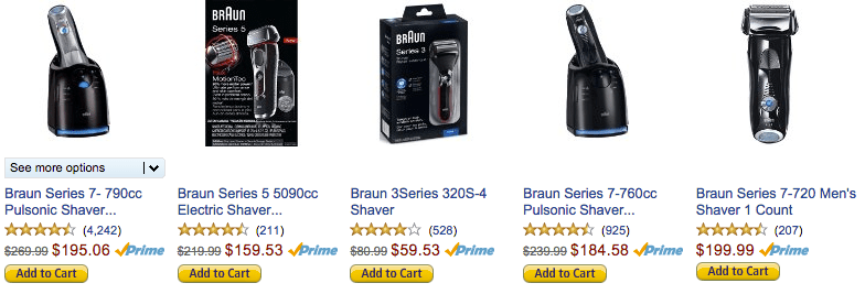 amazon deal shavers