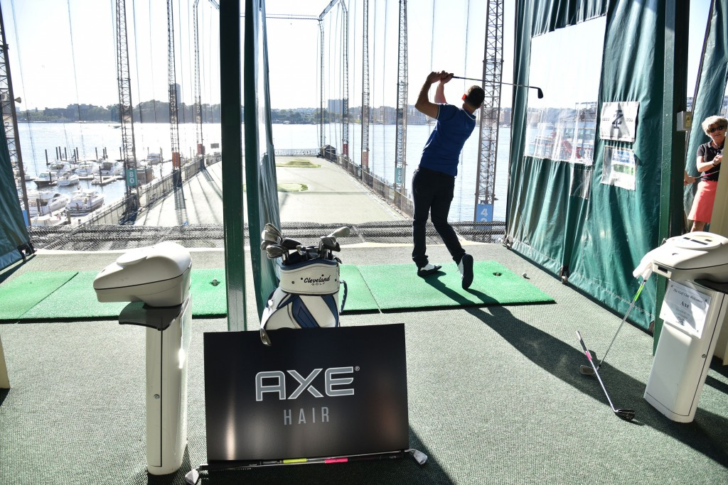 Axe Event in NYC golf chelsea piers