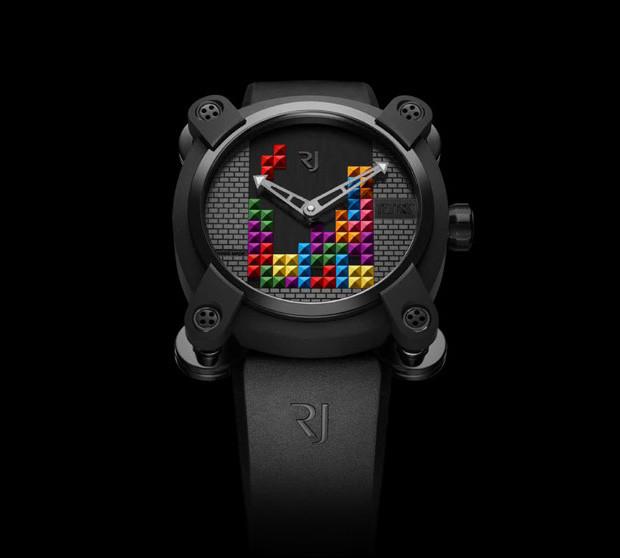 rj tetris dna watch expensive