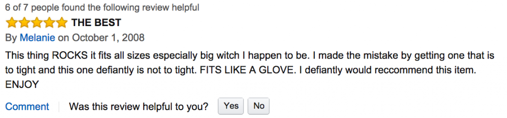 Reading Amazon.com Reviews of Male Sex Toys Was More Fun Than We Imagined
