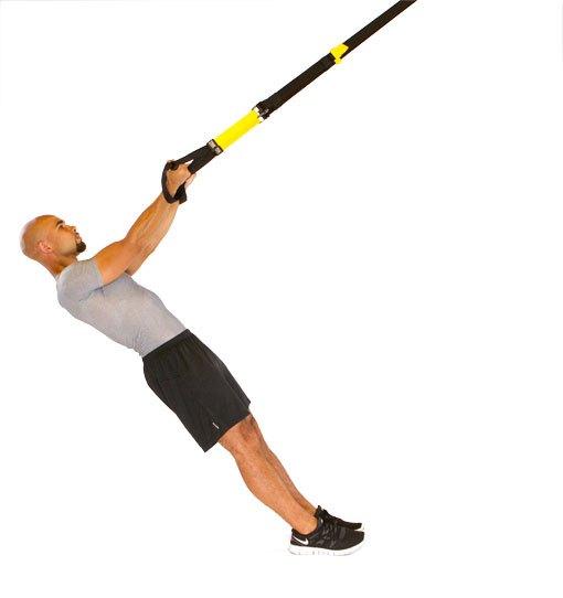 best trx workout for men TRX curl