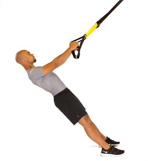 trx low row best trx workout for men