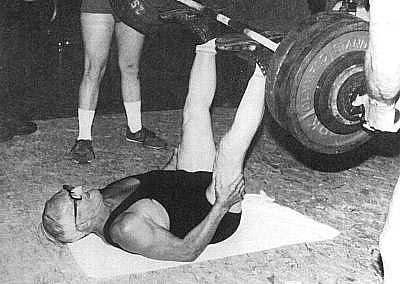 Zercher squat