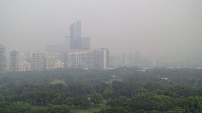 dirty air pollution