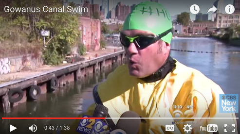 Video: Let's All Watch A Guy Swim In Gonorrhea Water!