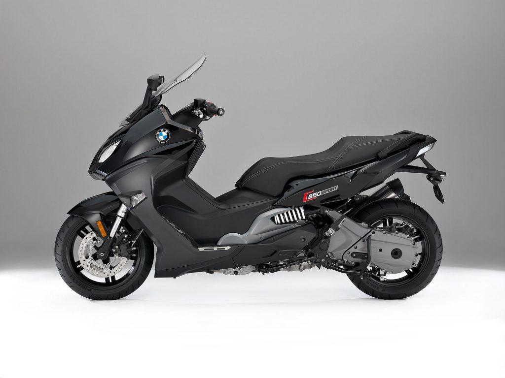 BMW C650 Sport scooter
