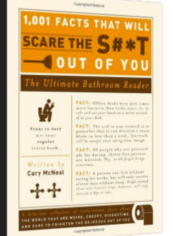scare you bathroom book
