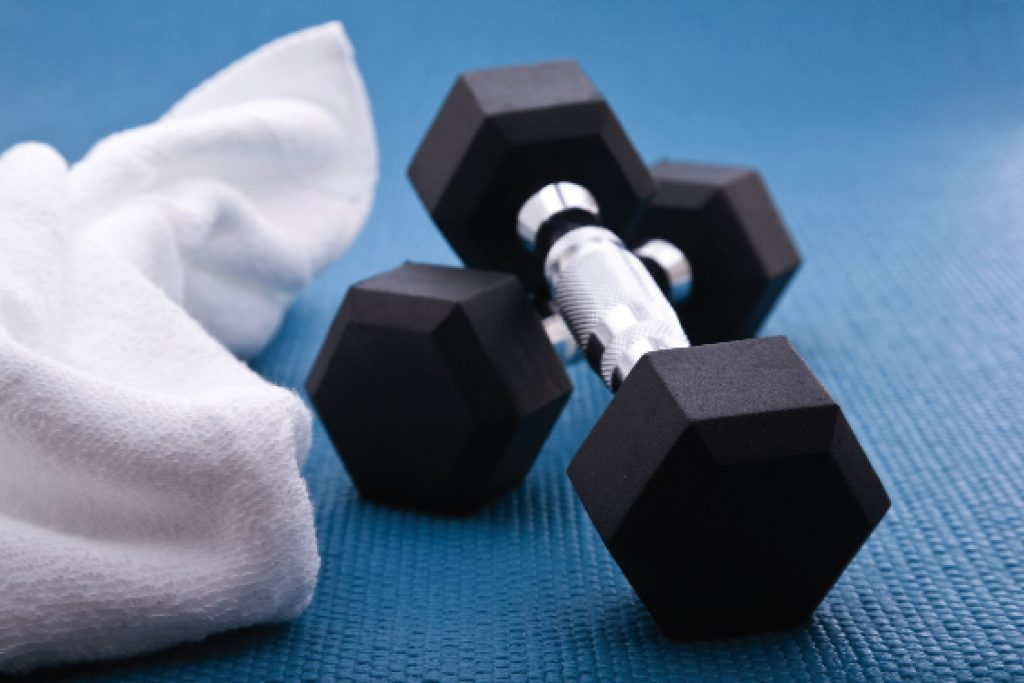 work out gym study