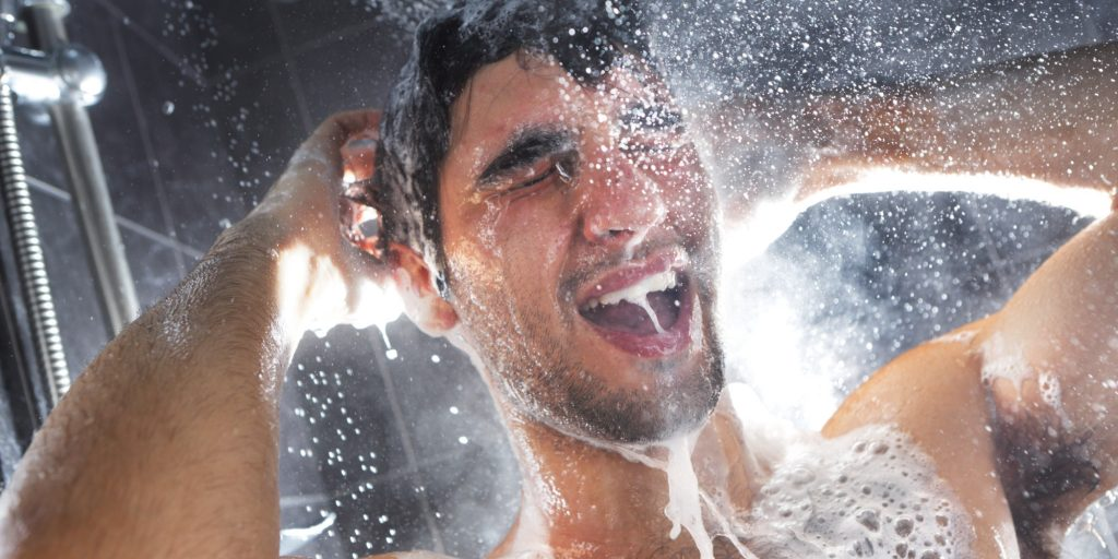 shower products for men