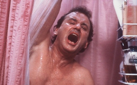 cool movie shower curtains groundhog day