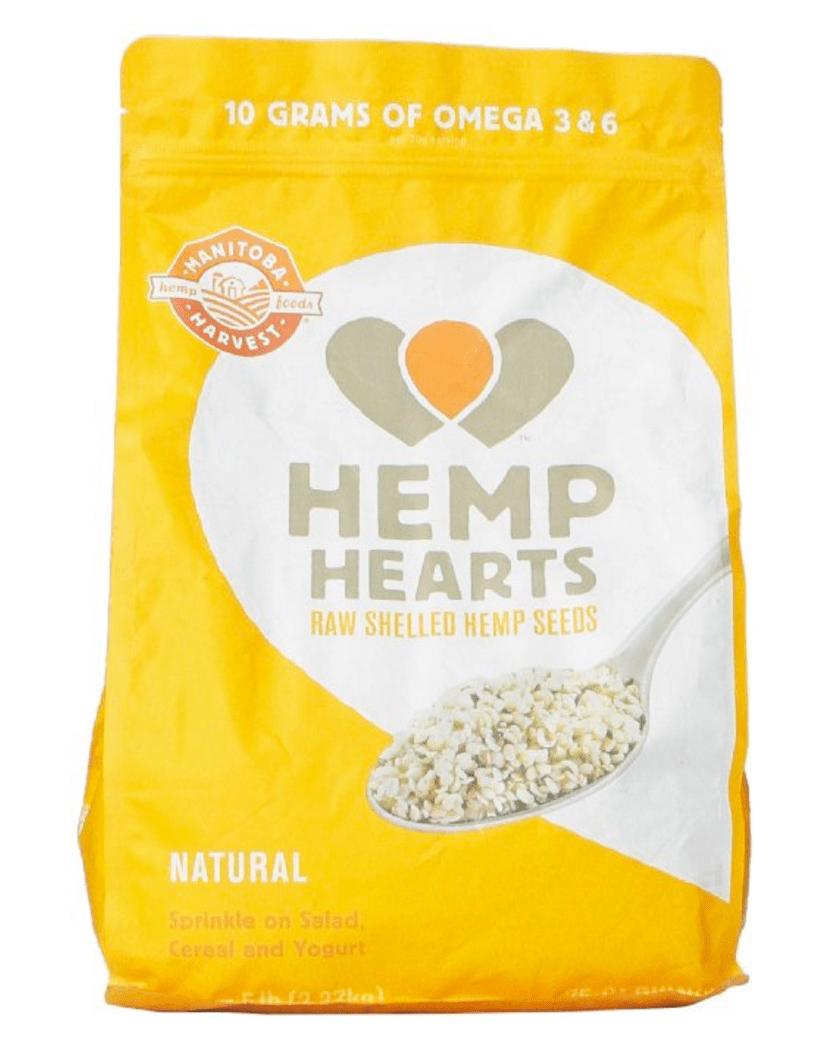 healthy snacks for men hemp seeds